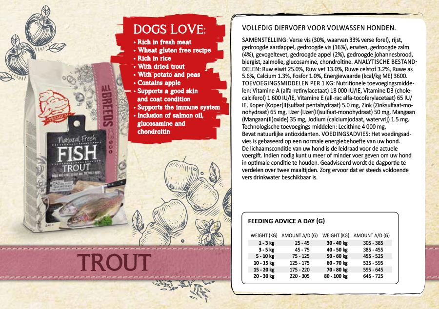 Fresh Fish Trout