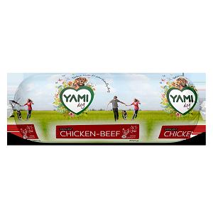 Yami kip/rund worst 350gr per 10 st.